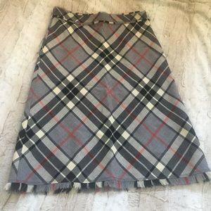 J.Crew Wool A-Line Skirt